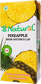 Natural pineapple juice